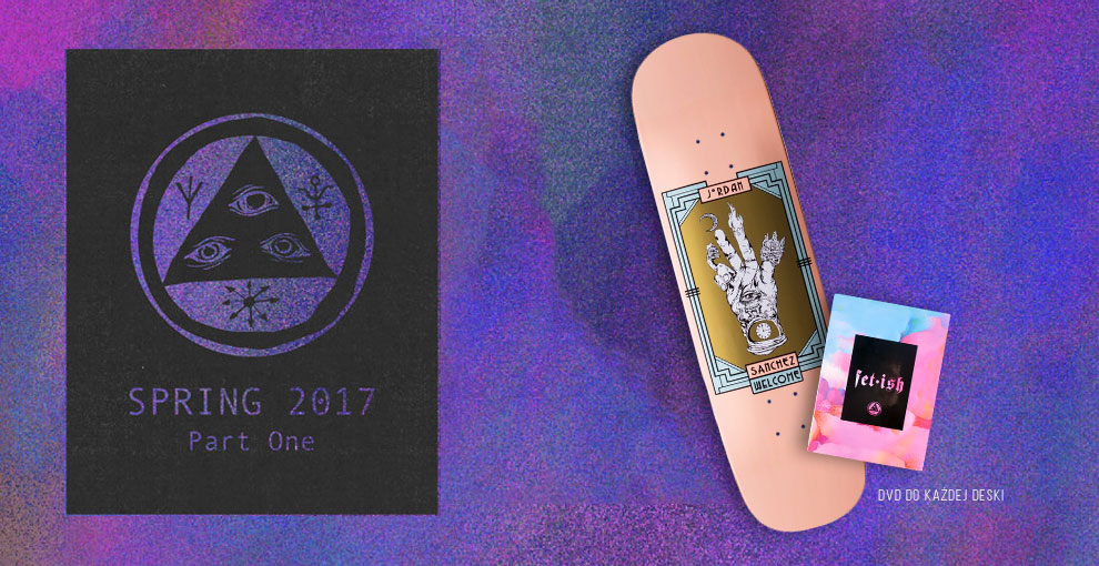 Welcome skateboards spring 2017