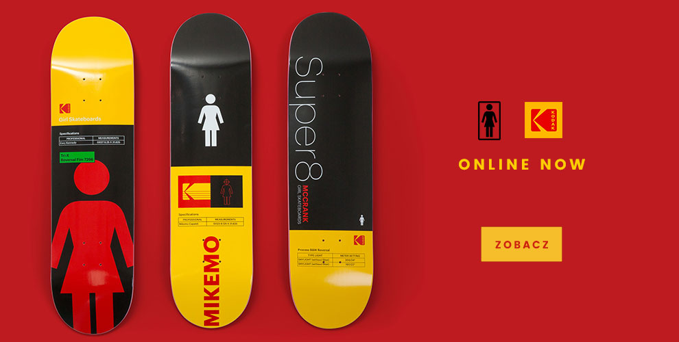Girl Skateboards X Kodak