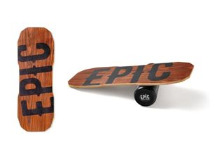 BALANCE BOARD EPIC DARK OAK + blk