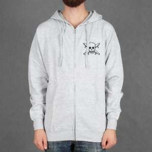 BLUZA FOURSTAR F16 ZIP HOOD S.PIRATE GRY