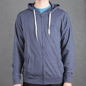 BLUZA MATIX F15 ZIP WORLD KNIT BLU