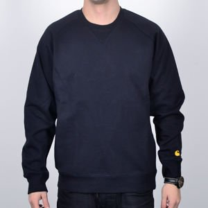 Bluza Carhartt Crew Chase dk nvy/gold