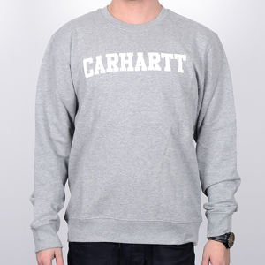 Bluza Carhartt Crew College gre/heath