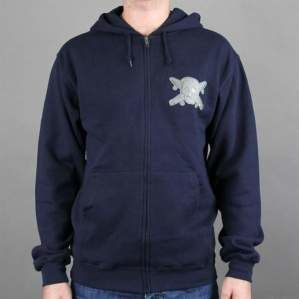 Bluza FOURSTAR F13 Chenille Patch Zip Hood Navy
