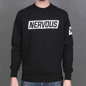 Bluza Nervous Crew F16 Back To blk