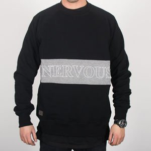 Bluza Nervous Crew Sp18 Lane Blk