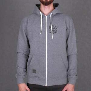 Bluza Nervous Zip Fa16 Pyramid grey