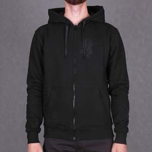 Bluza Nervous Zip Fa16 Snake black