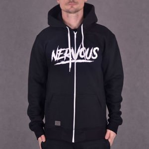 Bluza Nervous Zip Sp17 Scratch Black