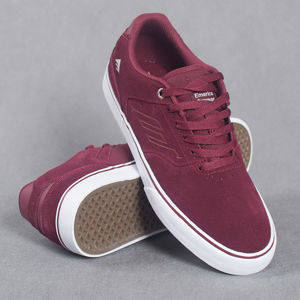 Buty Emerica sp17 The Reynolds low vulc red/wh/gum