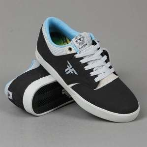 Buty FALLEN S15 The Vibe Flat Black Newsprint Grey
