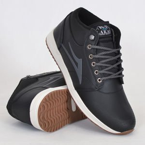 Buty Lakai Fa17 Griffin Mid Wt Blk Leather
