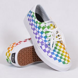 Buty Straye Fairfax Rainbow Checker