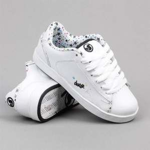 Buty damskie DVS F09 Devyn White Star Leather