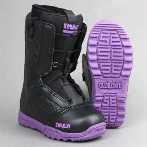 Buty snowboardowe ThirtyTwo W`13 Groomer FT Black Purple