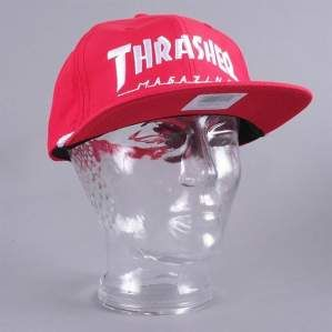CZAPKA THRASHER ROPE RED