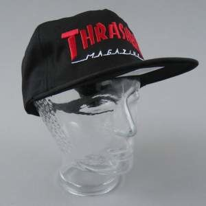 CZAPKA THRASHER TWO TONE MAG LOGO BLK/RED