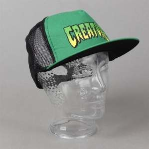 Czapka CREATURE Logo Black Green