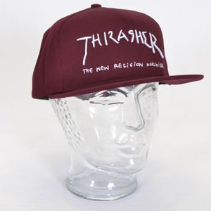 Czapka Thrasher New Religion Maroon
