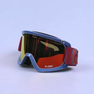 Gogle Dragon 13 M D2-L Ice/fir/red.amb RL- M