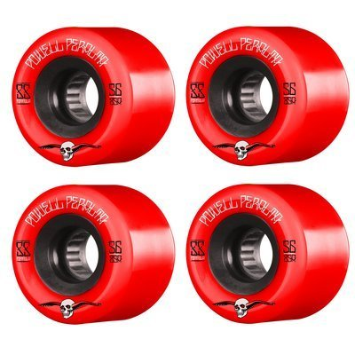 KOŁA POWELL  WL PP G-SLIDE RED 56MM 4PK
