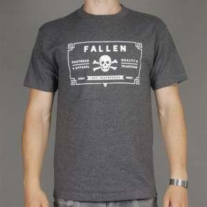 Koszulka FALLEN S14 100 Proof Heather Grey