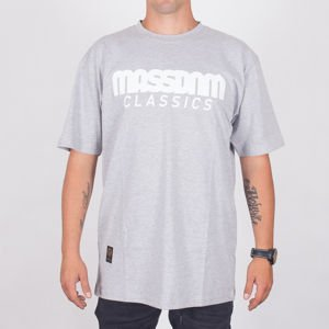 Koszulka Mass Classic Ss18 Light Heather Grey