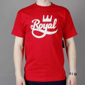 Koszulka ROYAL S15 Tech Logo Red