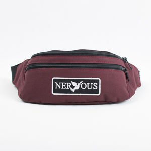 Saszetka Nervous Su18 Patch Maroon