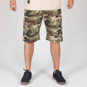 Szorty Mass Pants Base Straight Fit Ss18 Woodland Camo