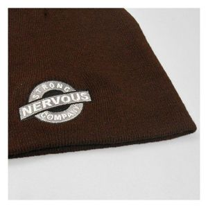 Czapka Nervous F12 Bean. Label Brown