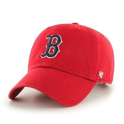 CZAPKA Z DASZKIEM 47 brand MLB Boston Red Sox Clean Up red