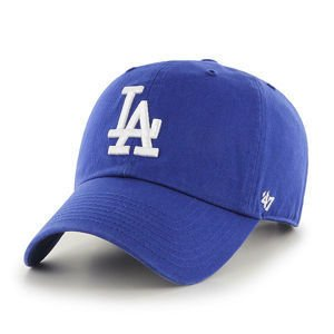 CZAPKA Z DASZKIEM 47 brand MLB Los Angeles Dodgers CLEAN UP royal