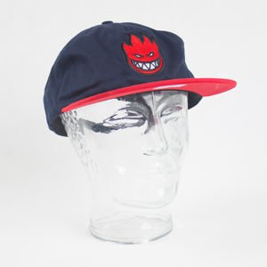 Czapka Spitfire ADJ Bighd Fill Snap Navy/Red