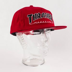 Czapka Thrasher Outlined Snap Red