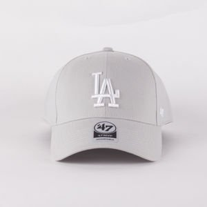 Czapka Z Daszkiem 47 Brand Mlb Los Angeles Dodgers Mvp Steel Grey