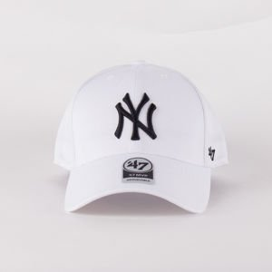 Czapka Z Daszkiem 47 Brand Mlb New York Yankees Mvp White