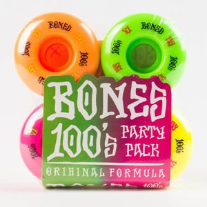 Koła Bones Party Pack #4 53mm 4pk Asst Og Formula V1