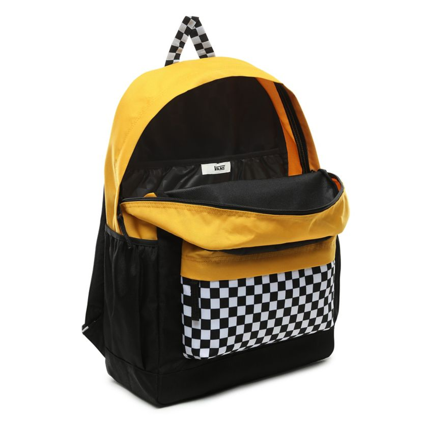 Plecak Vans Sporty Realm Plus black trifecta (VN0A3PBITVG)