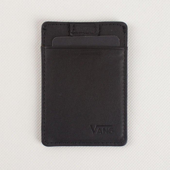 58b72ecc93bf5 Portfel Vans Eject Card Holder Black | DODATKI \ Portfele PRZECENY ...