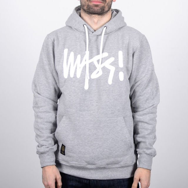 Bluza Mass hoody ss18 Signaturet.heath/grey