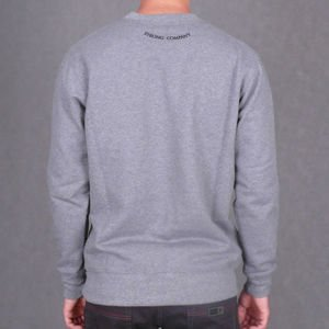 Bluza Nervous Crew Fa16 Hole grey