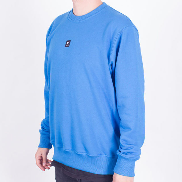 Bluza Nervous Crew Nd SS19 Icon Blue