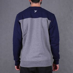 Bluza Nervous Crew Sp16 Football grey/navy