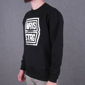 Bluza Nervous Crew Sp16 Shield Black