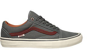 Buty Vans Old skool PRO GUN Gunmental/Burnt