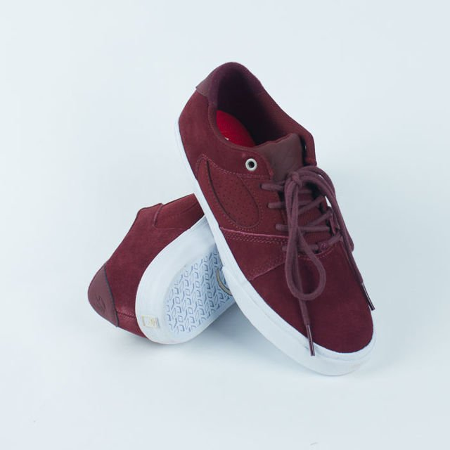 Buty eS Sp19 Square three burgundy