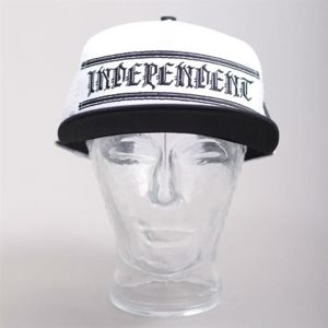 CZAPKA INDEPENDENT S16 AVE TRUCKER MESH BLACK