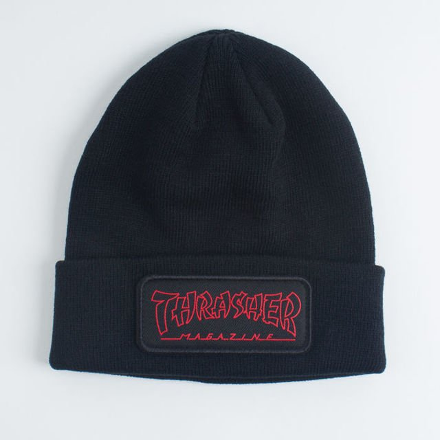 Czapka Thrasher China Banks Patch Beanie Blk