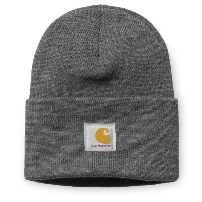 Czapka zimowa Carhartt WIP Watch Hat dark heather grey